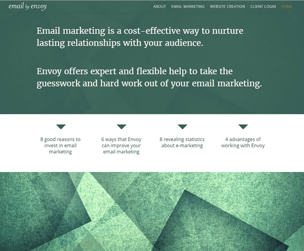 Email by Envoy website
