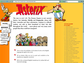 Asterix website