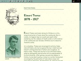 Edward Thomas Fellowship website