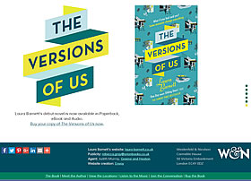 The Versions of Us website